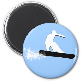 snowboard. simple. magnet