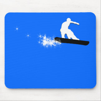 snowboard. simple. mouse mat