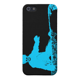 snowboard : skeleboarder iPhone 5 case