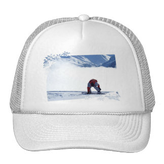 Snowboard Slide  Baseball Hat