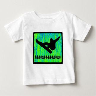 snowboard snow daze tshirt