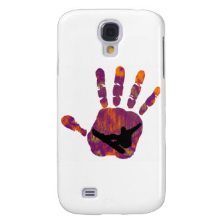 SNOWBOARD SNOW MAKERS GALAXY S4 CASE