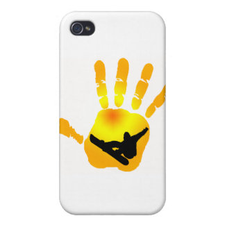 Snowboard Sun Vision iPhone 4 Case