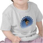 Snowboard Tail Grab Baby T-Shirt
