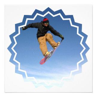 Snowboard Tail Grab Invitation