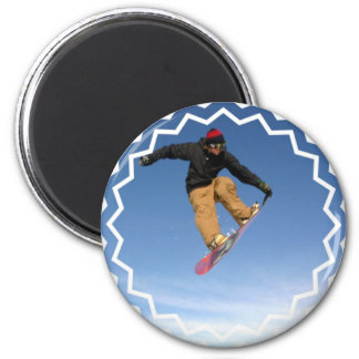 Snowboard Tail Grab Magnet Magnet