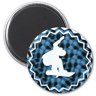 Snowboard Team Magnet Refrigerator Magnets
