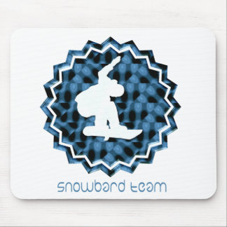 Snowboard Team Mouse Pad