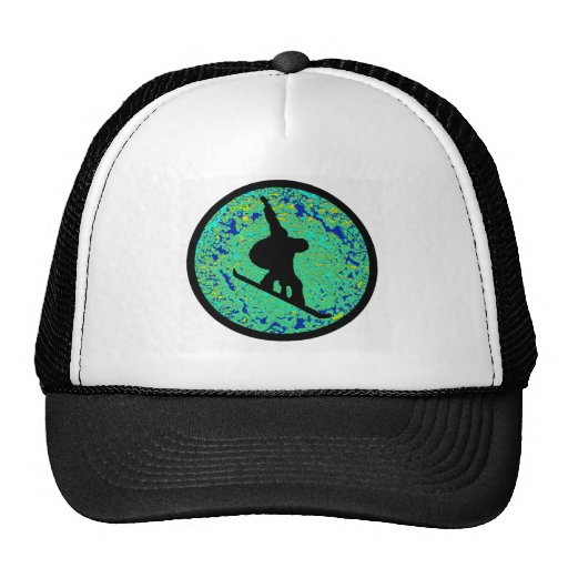Snowboard the Steps Mesh Hat