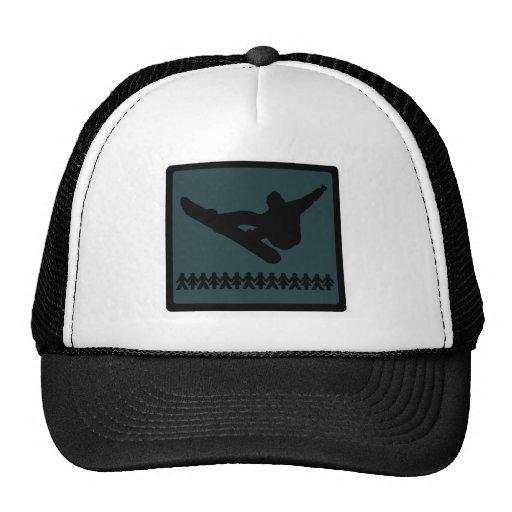 Snowboard Timber Framed Hats