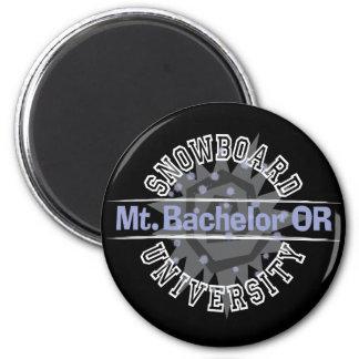Snowboard University - Mt. Bachelor OR Refrigerator Magnets