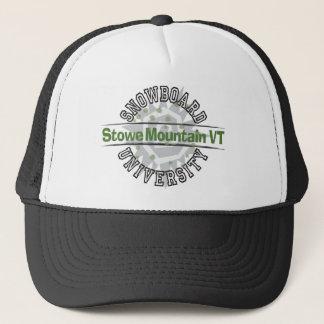 Snowboard University - Stowe Mountain VT Trucker Hat