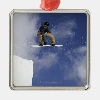 Snowboarder 2 christmas ornament