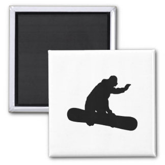 Snowboarder_2 Fridge Magnet