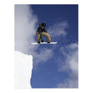 Snowboarder 2 postcard