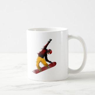 Snowboarder Basic White Mug