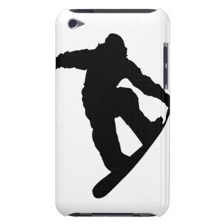 Snowboarder iPod Touch Cases