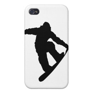 Snowboarder Cover For iPhone 4
