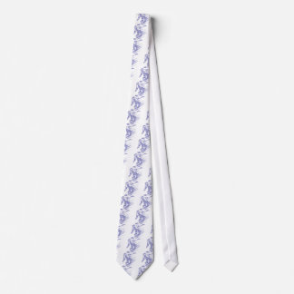 Snowboarder Custom Neck Tie