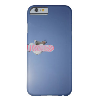 Snowboarder Flying Through the Air Barely There iPhone 6 Case