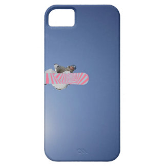 Snowboarder Flying Through the Air iPhone 5 Covers