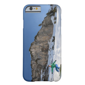 Snowboarder free riding barely there iPhone 6 case