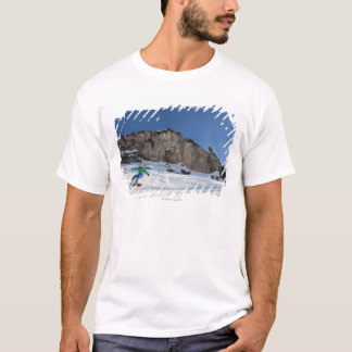 Snowboarder free riding T-Shirt