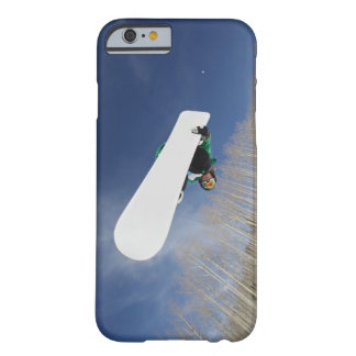 Snowboarder Getting Vert Barely There iPhone 6 Case