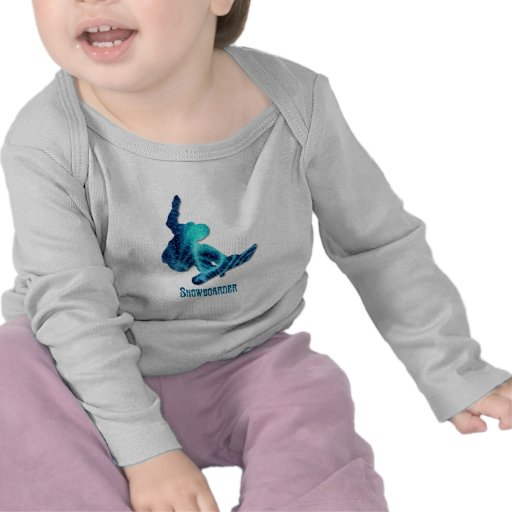 Snowboarder Infant T Shirts