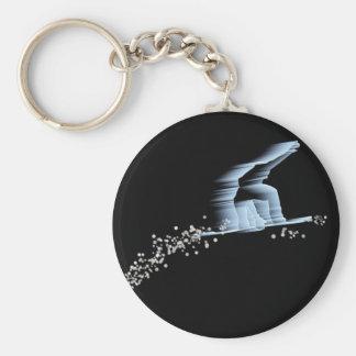 Snowboarder Keychain