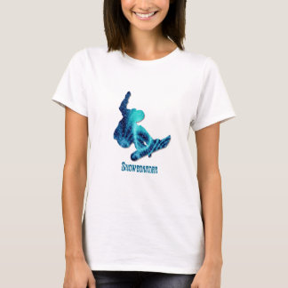 Snowboarder Ladies T-Shirt