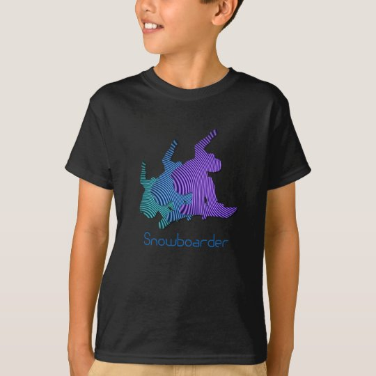 Snowboarder Logo Kid's T-Shirt