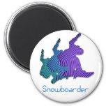 Snowboarder Logo Magnet Magnet