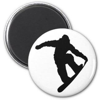 Snowboarder Fridge Magnets