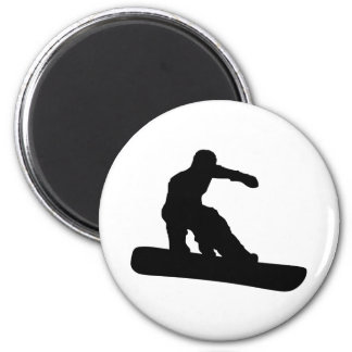 Snowboarder Fridge Magnets