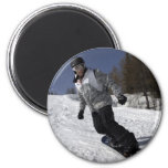 Snowboarder Magnets