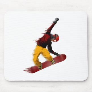Snowboarder Mouse Pad