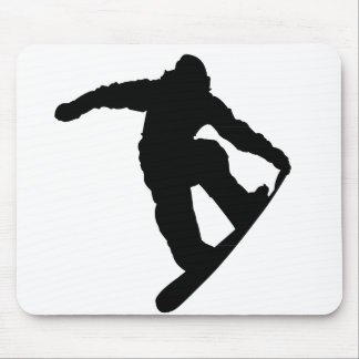 Snowboarder Mouse Pads