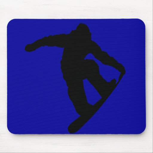 Snowboarder Mousepad