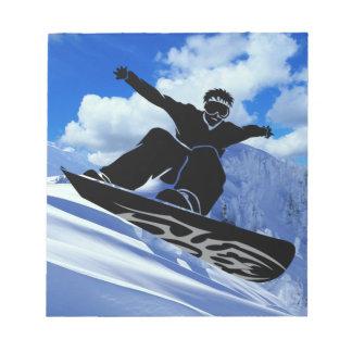 snowboarder notepads