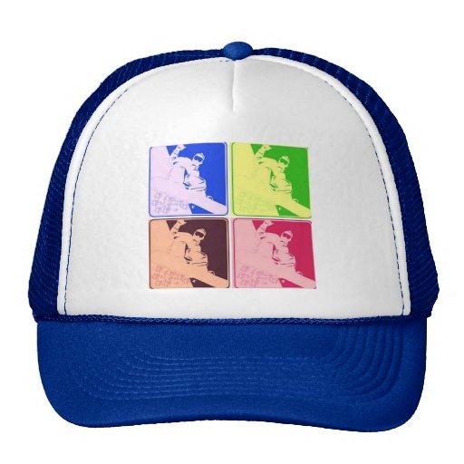 Snowboarder/Pop Art Hats