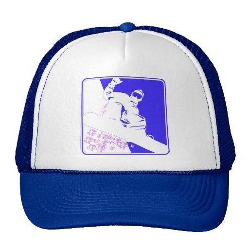 Snowboarder/Pop Art Mesh Hats