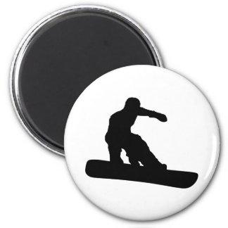 Snowboarder Refrigerator Magnet