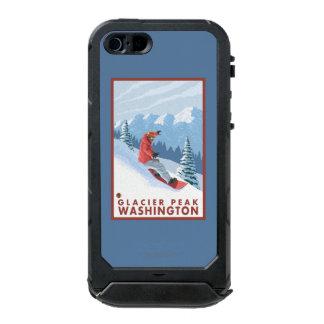 Snowboarder Scene - Glacier Peak, Washington Incipio ATLAS ID™ iPhone 5 Case