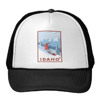 Snowboarder Scene - Idaho Cap
