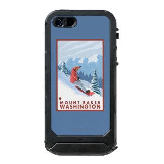 Snowboarder Scene - Mount Baker, Washington Incipio ATLAS ID™ iPhone 5 Case