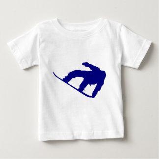 Snowboarder shadow baby T-Shirt