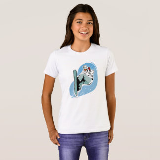 Snowboarder Snowboarding Girl's Graphic T-Shirt