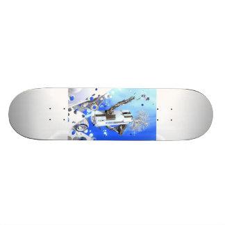 Snowboarder Snowboarding Urban Skateboard #10