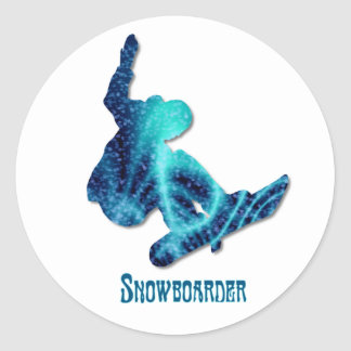 Snowboarder Stickers